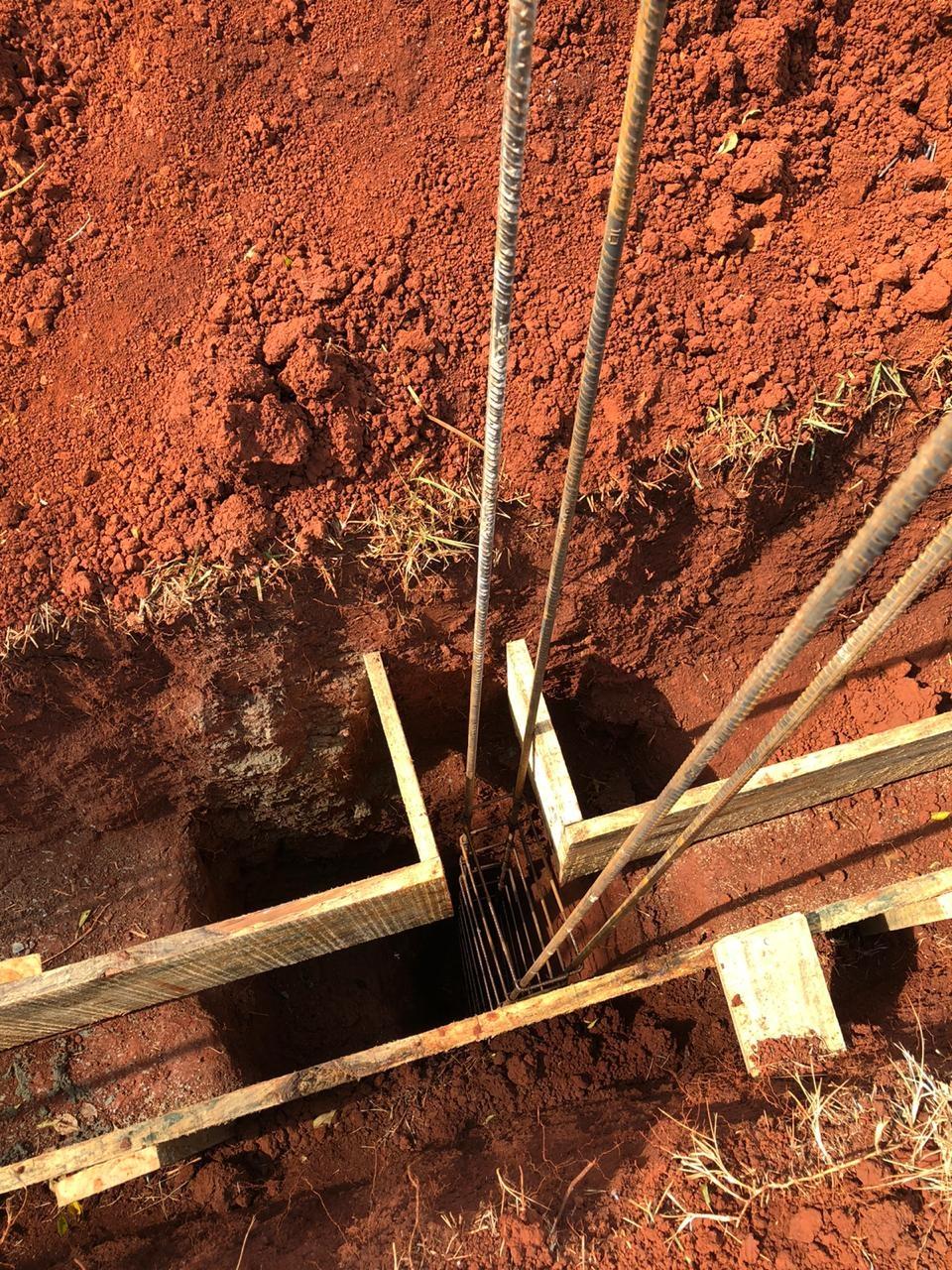 Fotos Estágio da obra: Escavação