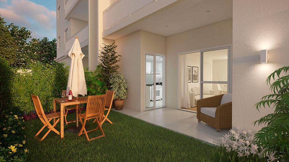Apartamento Garden valoriza imóvel e dá mais possibilidades aos moradores